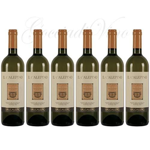 6 bottiglie VALCALEPIO Bianco 2018 Il Calepino