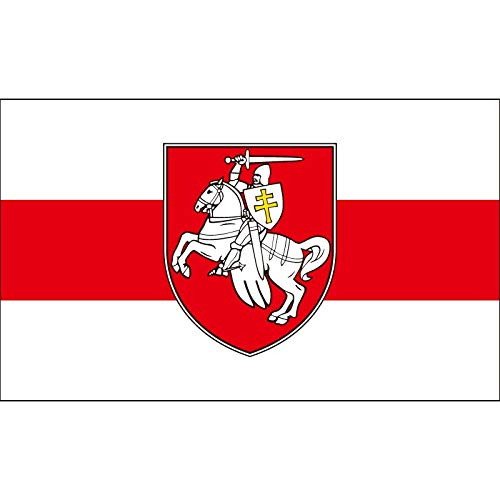ZAVIER Belarus White Knight Pagonya Flagge 150x90cm 60x90cm Banner Fahnen & Banner (Color : 90x150cm)
