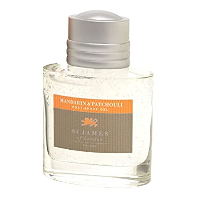 St James of London Mandarin & Patchouli Small Post Shave Gel from St James of London