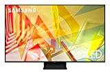 Samsung TV QE55Q90TATXZT Smart TV 55' Serie Q90T QLED, Ultra HD 4K, Wi-Fi, 2020, Silver