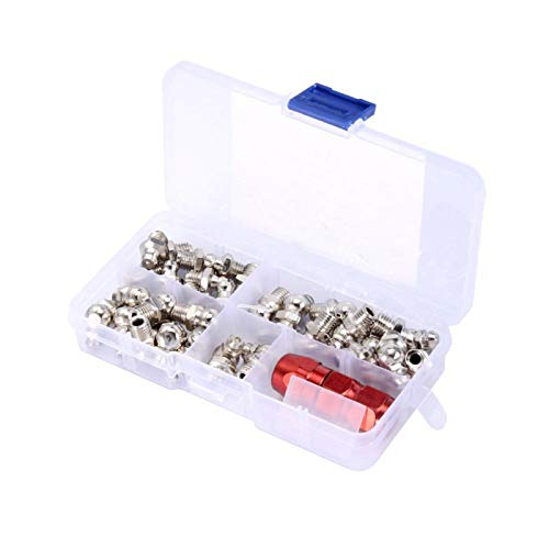 Lubricación Reemplazo de metal Racores para engrasadores Partes mecánicas Racores para boquillas(M8 suit)