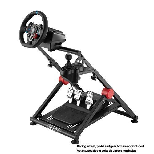 WHEEL STAND GT PRO - Soporte universal para el volante, los platos y las bielas y la caja de cambios compatible con todos los productos Logitech, Thrustmaster y Fanatec.