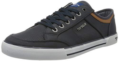 Tom Tailor 805100430, Zapatillas Hombre, Azul (Navy 00003), 42 EU
