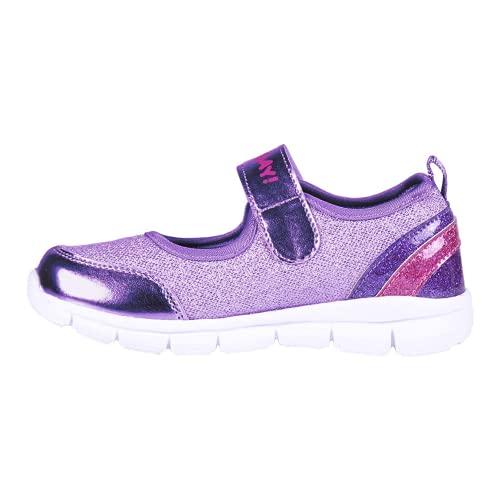 CERDÁ LIFE'S LITTLE MOMENTS Zapatos Merceditas Deportivas Niña LOL de con Licencia Oficial MGA, Scarpe da Ginnastica, Viola, 35 EU