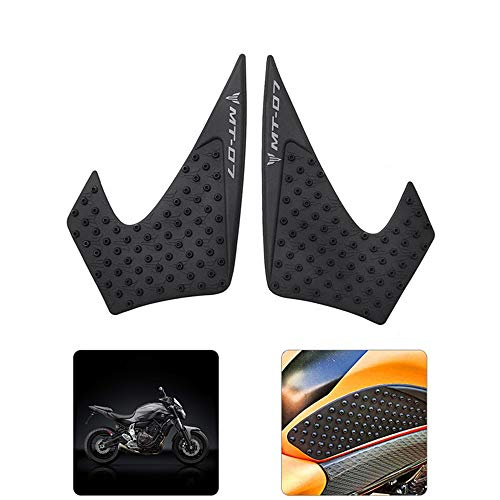 Motorcycle Waterproof Rubber 3D Fuel Gas Tank Side Pad Cover Knee Protection For Yamaha MT-07 MT07 2014 2015 2016 2017