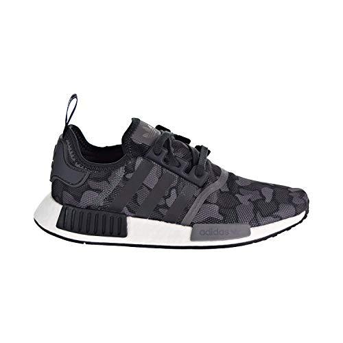 adidas Men's NMD_R1 Core Black/Grey Camo D96616 (Size: 6)
