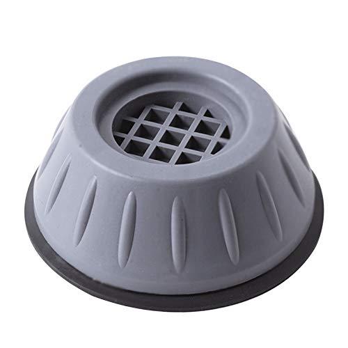 AIchenYW - Soporte de lavadora antivibración 1/2/4 unidades, soporte para lavadora con cancelación de golpes y ruido, patas de lavadora, antideslizantes y antiruido