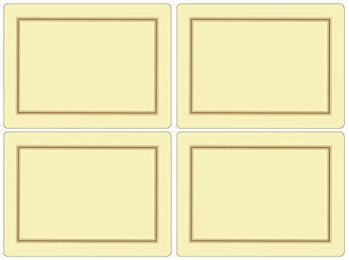 Pimpernel Tischsets - Classic Cream - 4er Satz