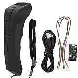 EVTSCAN Dernière télécommande de skateboard électrique, télécommande et récepteur sans fil 2.4Ghz VX2, avec dragonne profilée et antidérapante, pour planche à roulettes électrique DIY