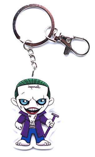 Anime Domain Clown Schlüsselanhänger mit Chibi Figur (Joker)