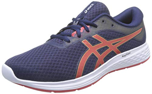 Asics Patriot 11, Road Running Shoe para Hombre - Peacoat/Classic Red - 42 EU