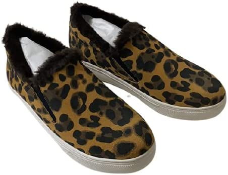 Nib New Blondo Leopard Suede 7 1/2 M Brown Black White Waterproof Synthetic Leather Rubber Women's Shoes Sneakers Walking Sports Gym Run Running Yoga Outdoors