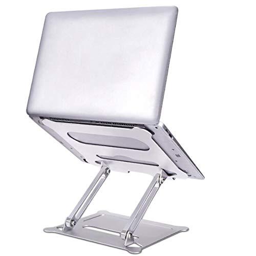 Soporte para computadora de aleación de Aluminio Soporte de enfriamiento para computadora portátil de elevación Ajustable de Escritorio portátil