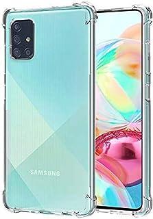 RKINC Case forSamsung Galaxy Note 10 Lite, Crystal Clear Reinforced Corners Soft TPU Bumper Cushion + Hybrid Rugged Soft ...