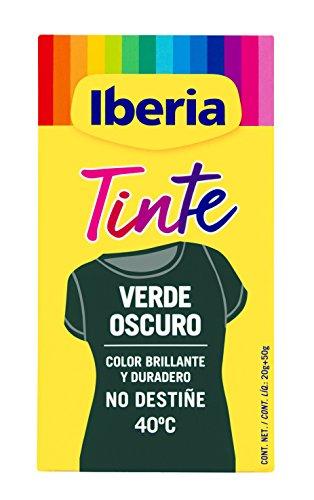 Iberia - Tinte Verde Oscuro para ropa