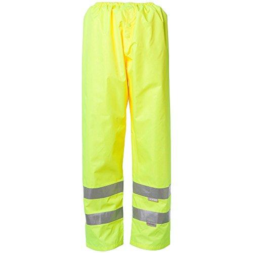Planam Regenhose Warnschutz, Größe L in gelb, 1 Stück, 2065052
