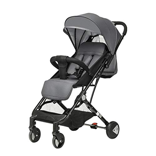 Best Deals! LEZDPP Baby Stroller Can Sit and Lay Super Light Portable High Landscape Collapsible Var...