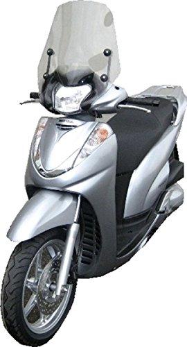 Fabbri Lastra Parabrezza Summer Fumè Chiaro per Honda-Sh 300 dal 2006 Fino al 2010