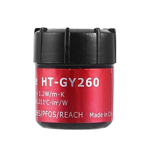 fengzong Hochleistungs-Grau-Kühlkörper-Compound-CPU-Kühlkühler-Fettpaste Silikon-Wärmeleitpaste (grau)