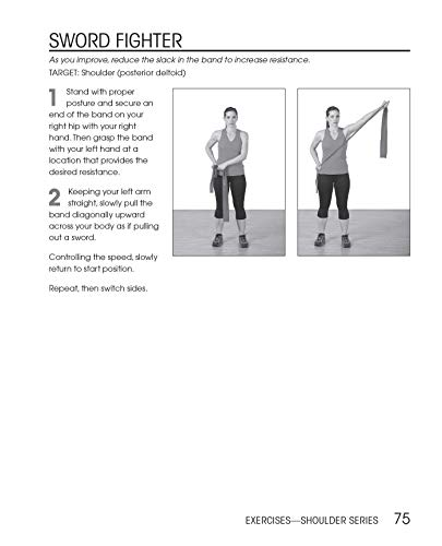 『Injury Rehab with Resistance Bands: Complete Anatomy and Rehabilitation Programs for Back, Neck, Shoulders, Elbows, Hips, Knees, Ankles and More』の8枚目の画像