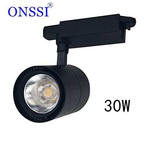 Faretto da Binario LED 30W G8005 Monofase Nero 6000k Fredda 3000lm ONSSI LED