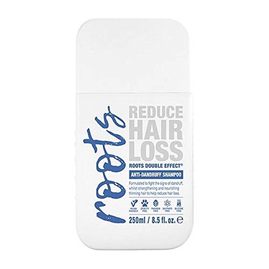 ランチョン明るくするテンション[Roots ] 根のダブル効果フケ防止シャンプー250Ml - Roots Double Effect Anti-Dandruff Shampoo 250ml [並行輸入品]