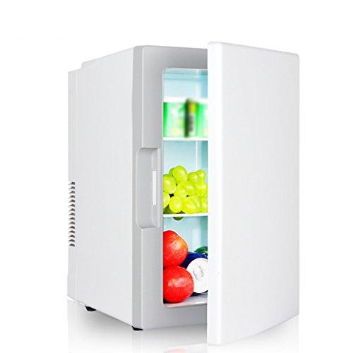 JCOCO Réfrigérateur pour voiture 18L Car Home À double usage Mini incubateur à froid et à chaud Réfrigération ménager Chambre à coucher Réfrigérateur Mini réfrigérateur