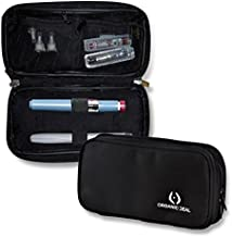 Insulin Travel Case - Epipen Carrying Case - Insulin Pen Case keeps diab medication cool - Diabetic Case - Freeze & Go - Incl. 2 Ice Packs (pens & vials not incl) - FDA-TSA compliant small travel bag