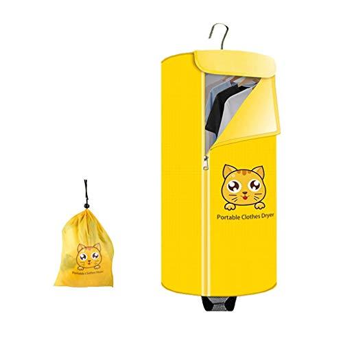 XHMCDZ Secadora de ropa eléctrico portátil de lavandería Tendedero 5 kg de capacidad de forma redonda Mejor ahorro de energía portátil sin ventilación Paños Secadora plegable máquina de secado con cal