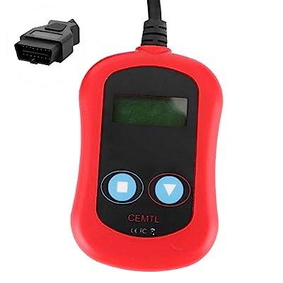 FOTABPYTI OBDII Scanner, Widely Used Backlit LCD Diagnostic Scanner, Plastic for Car Inspection Engine Fault Check Automotive by FOTABPYTI