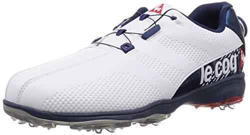 [ルコックスポルティフゴルフ] 【20年秋冬モデル】ゴルフシューズ QQ2NJA00 WHBL(ホワイトブルー) メンズ 28 cm