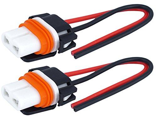2X HB4 9006 keramische lampen P22d fitting fitting stekker 12/24V halogeen LED