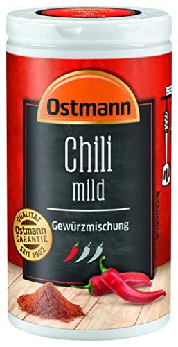 Ostmann Chili mild Gewürzmischung, 4er Pack (4 x 35 g)