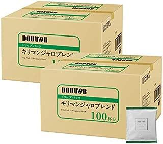ドトール ドリップパック キリマンジャロブレンド 100P×2箱(合計200P)