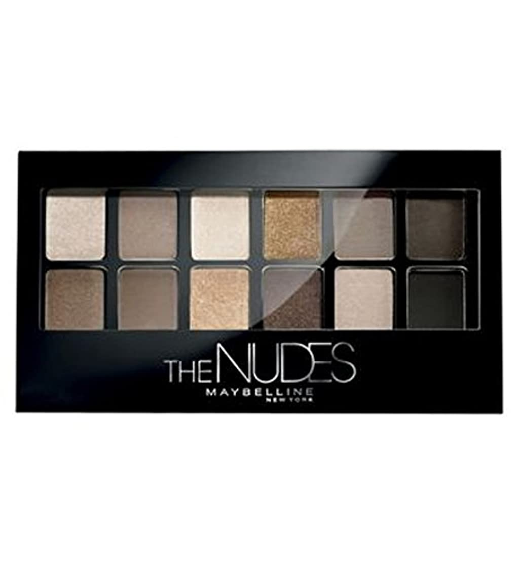 保守可能洗う照らすメイベリンはヌードをパレット (Maybelline) (x2) - Maybelline Palette The Nudes (Pack of 2) [並行輸入品]