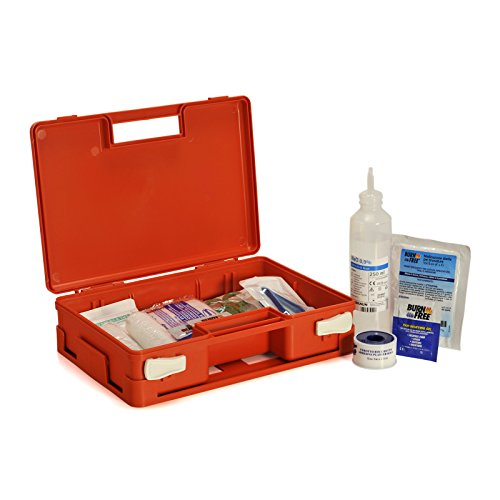 Pharma[+] Kit Pronto Soccorso USTIONI Valigetta Emergenza bruciature Cassetta Medica scottature