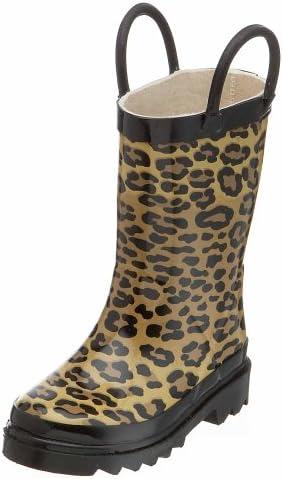 Western Chief Leopard Print Rain Boot (Toddler/Little Kid/Big Kid)
