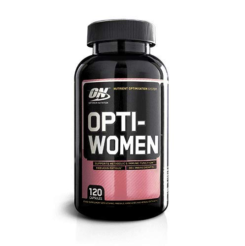 Optimum Nutrition Opti-Women Multivitamin Supplement Tablets with Key Vitamins and Minerals for Women, 60 Servings, 120 Capsules