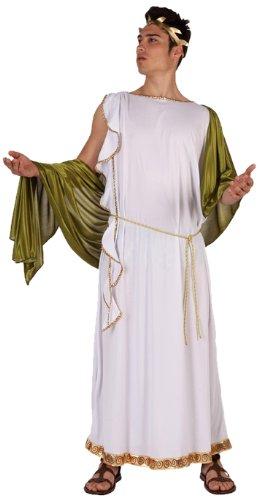 Atosa 5771 - Costume imperatore Romano Uomo, Taglia: 50 - 52