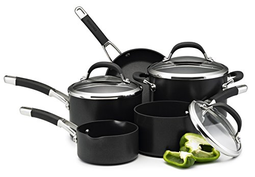 Circulon Premier Professional Saucepan and Frypan Set of 5 – Lifetime...