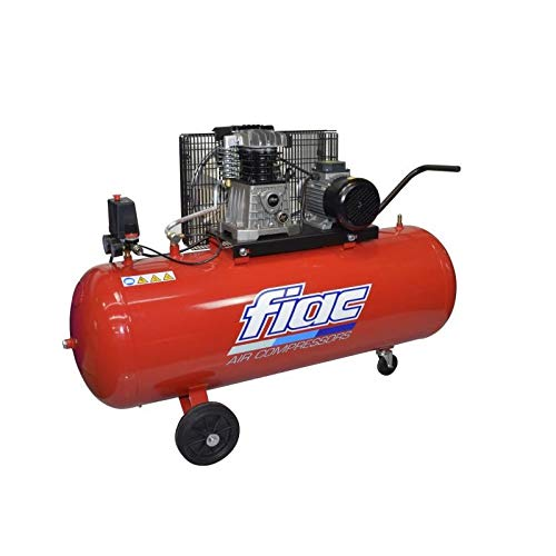 Kompressor Klimaanlage Koaxialkabel ohne /Öl Tragbar 6/Liter FIAC Leonardo Made in Italy