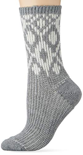 ESPRIT Damen Diamond W SO Socken, Grau (Mid Grey Melange 3530), 39-42 (UK 5.5-8 Ι US 8-10.5) (2er Pack)