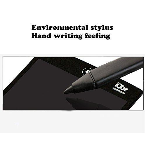 『iQbe 電子メモパッド 電子メモ帳 デジタルペーパー LW01-BK ブラック』の3枚目の画像