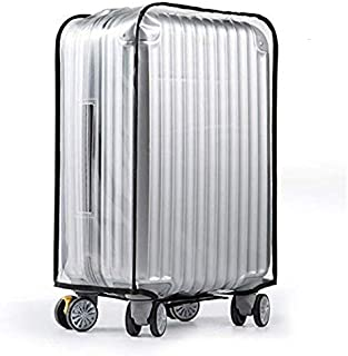 "1PCS Luggage Cover Suitcase Cover Transparent Protectors Case for 20""24""28""30"" (XXX-Large, Transparent)"