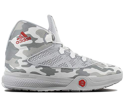 adidas Performance Mens D Rose Dominate 2016 Basketball Sneakers - White - 18.5