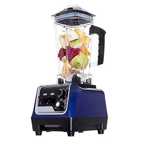 Licuadora Profesional de encimera, licuadoras para Cocina, procesador de Alimentos, licuadora de Cocina, batidora de Alimentos, 2200 W, batidora, 2000 ml, licuadora Multifuncional para Batidos y bati