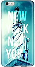 Stylizedd Apple iPhone 6Plus Premium Slim Snap case cover Gloss Finish - New York New York