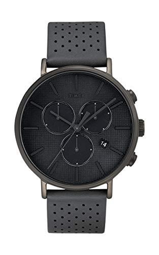 Timex Fairfield Herren-Armbanduhr Supernova Chronograph Leder TW2R97800