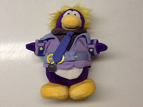 """Disney Save $8.00 Club Penguin 7"""" Secret Agent DOT Plush - Value Deal = Just The DOT Without The Coin"""