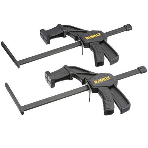 Dewalt DWS5026-XJ Schnellspanner/Schnellspannzwinge (für Führungsschienen, 1 Paar, passend für DWS5021, DWS5022 und DWS5023)